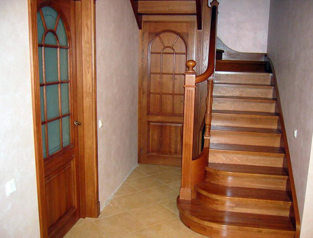 Фото лестниц на второй этаж в частном доме 9 фотография
